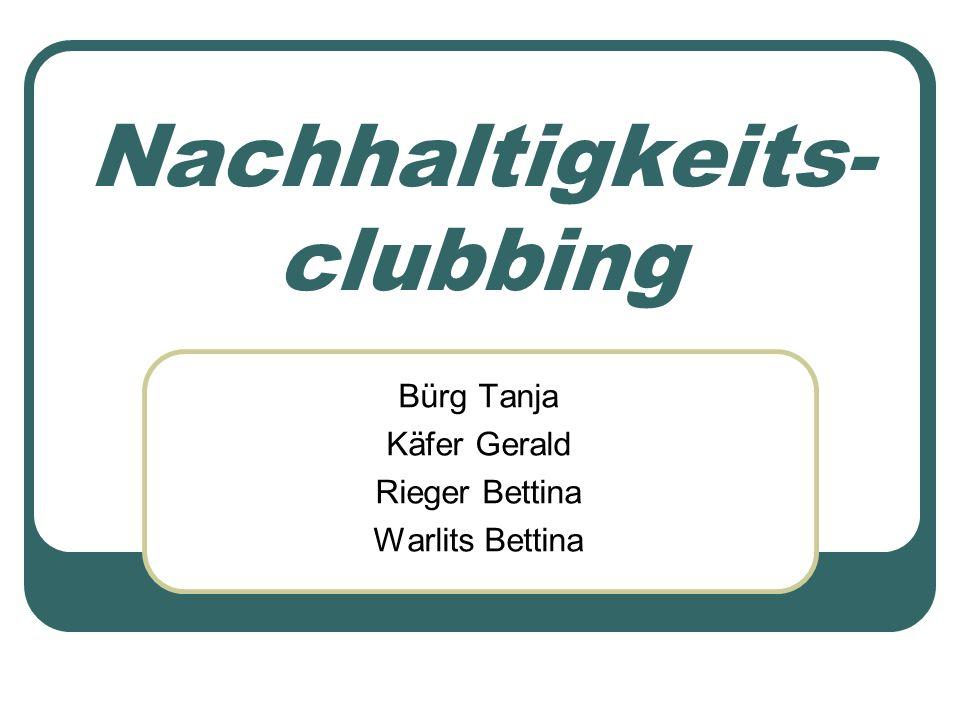 Nachhaltigkeits-clubbing