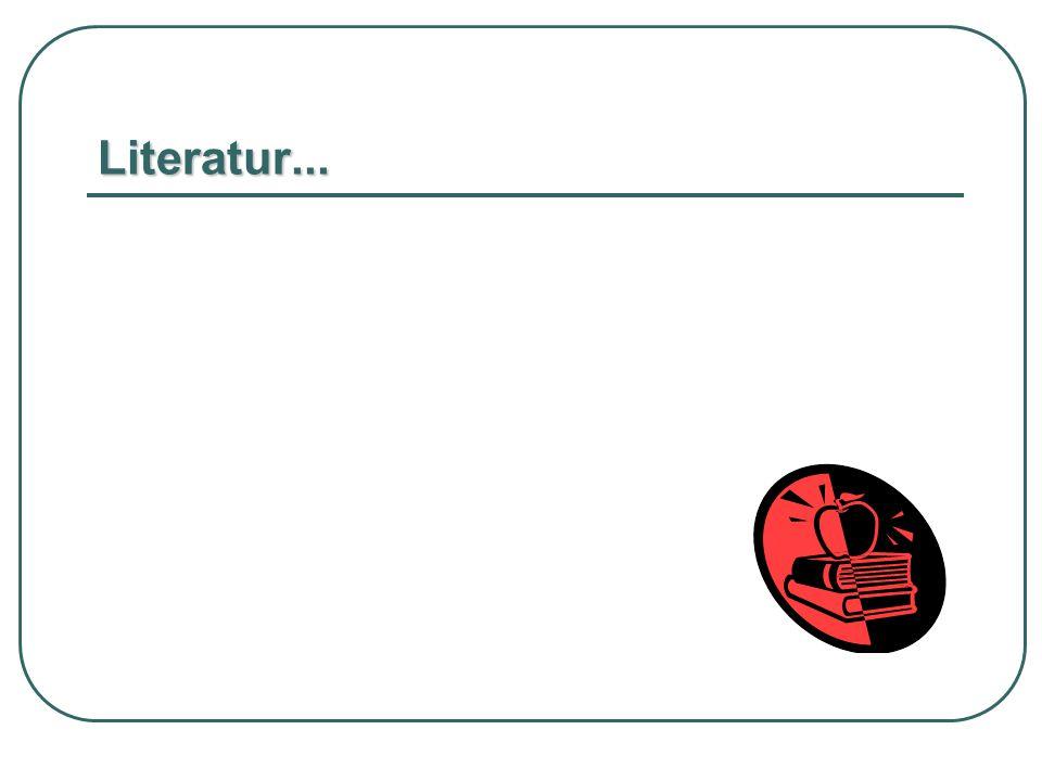 Literatur...