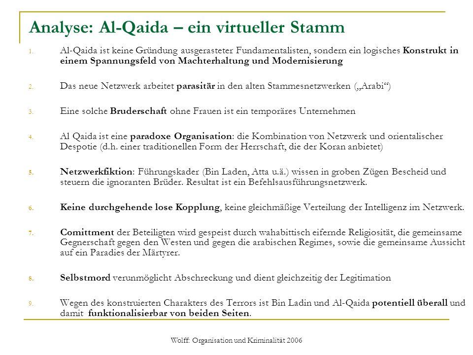 Analyse: Al-Qaida – ein virtueller Stamm