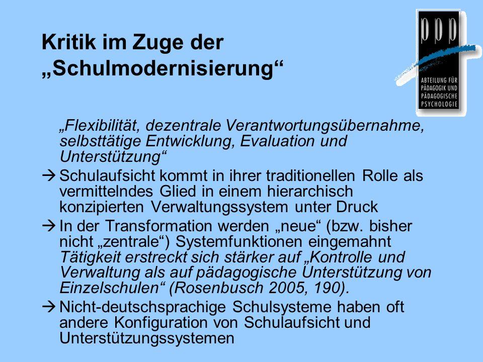 """Kritik im Zuge der """"Schulmodernisierung"""