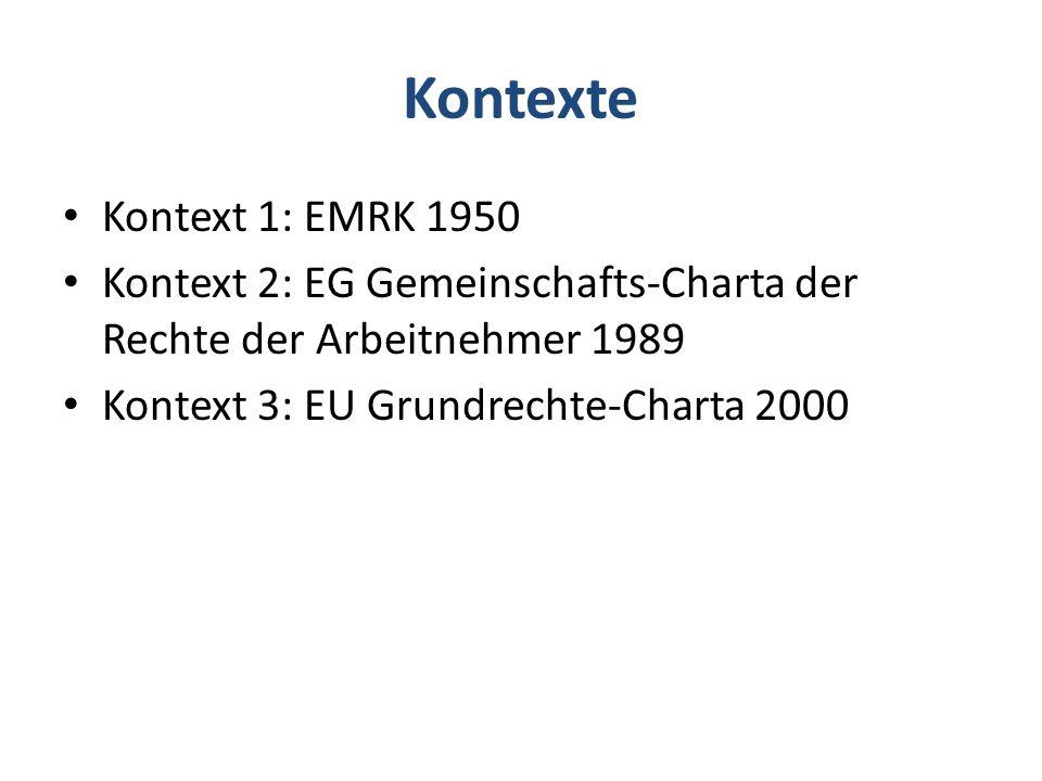 Kontexte Kontext 1: EMRK 1950