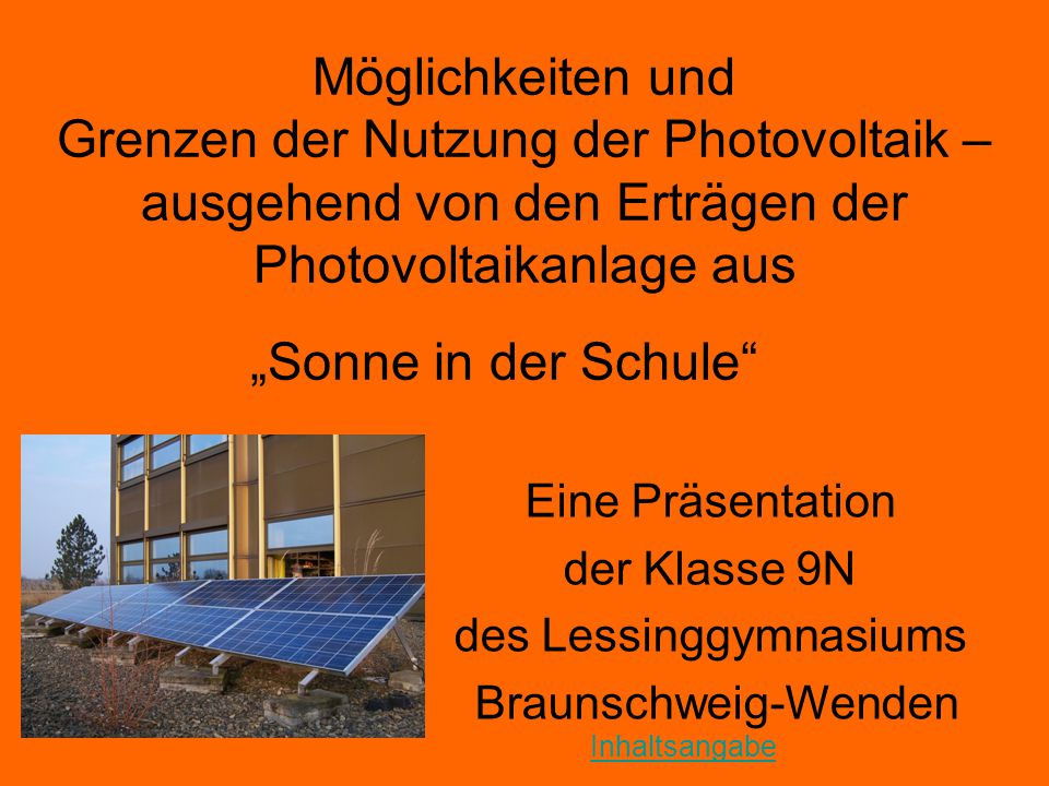 des Lessinggymnasiums