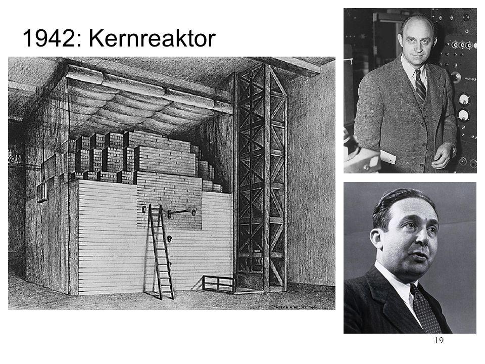 1942: Kernreaktor