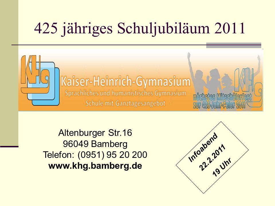 425 jähriges Schuljubiläum 2011