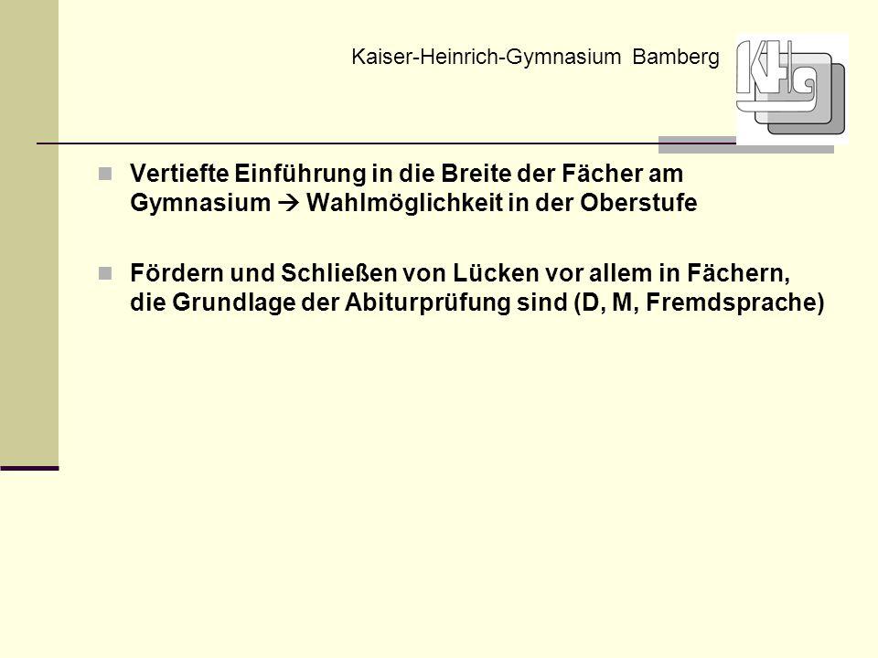 Kaiser-Heinrich-Gymnasium Bamberg