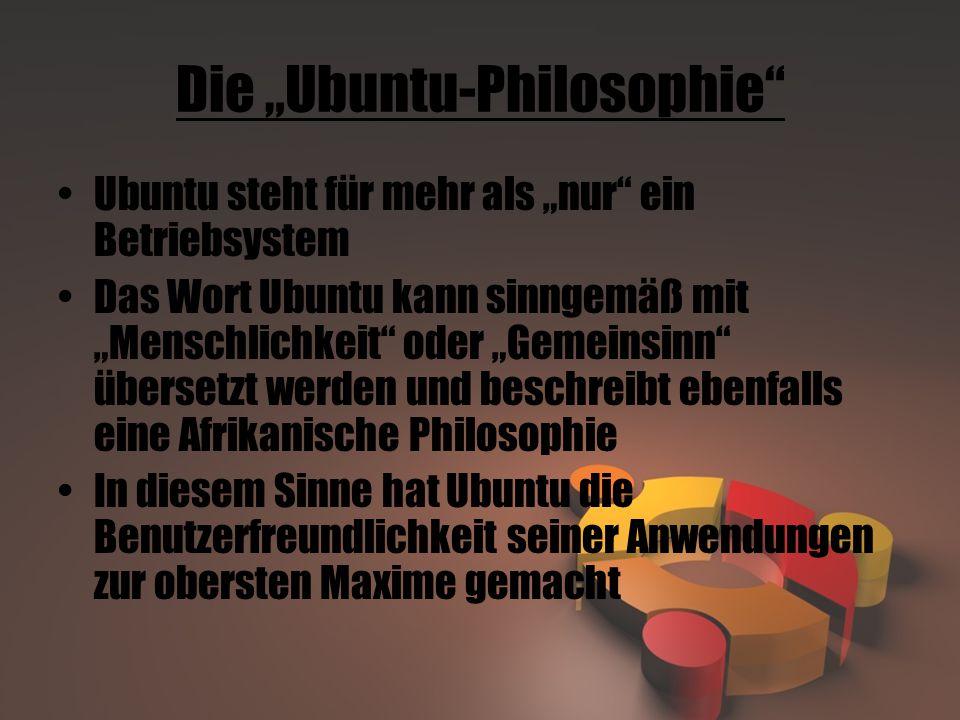 """Die """"Ubuntu-Philosophie"""