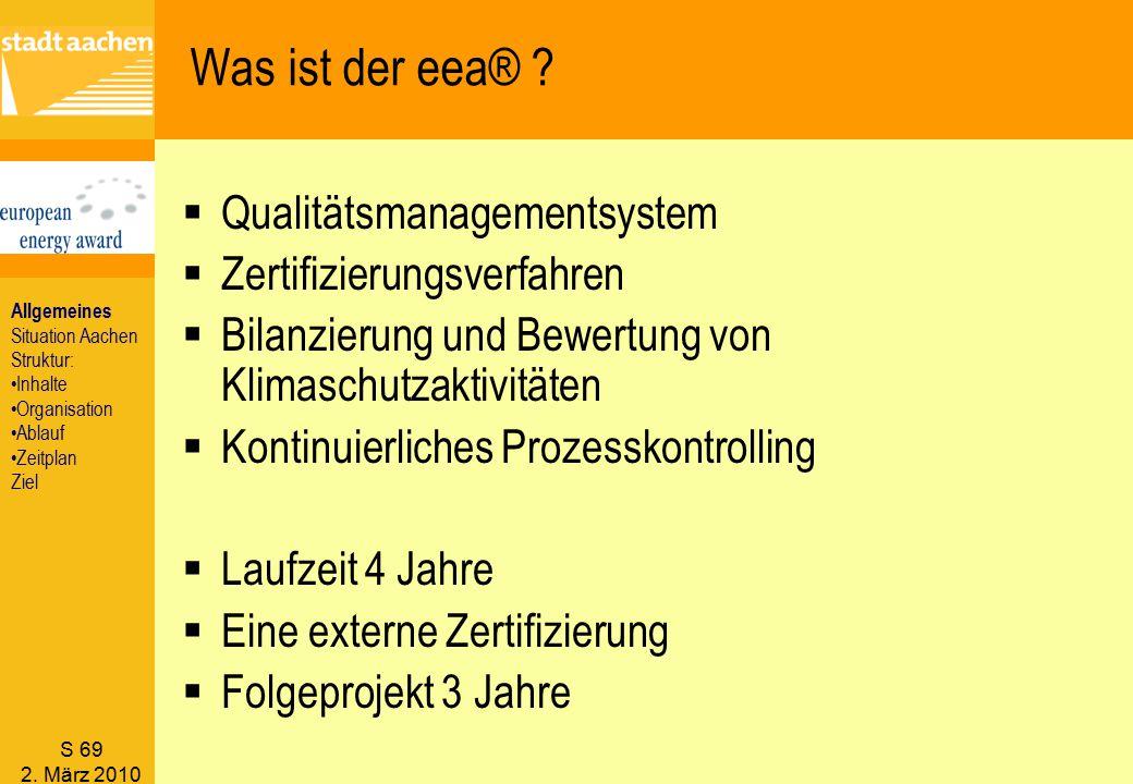 Was ist der eea® Qualitätsmanagementsystem Zertifizierungsverfahren