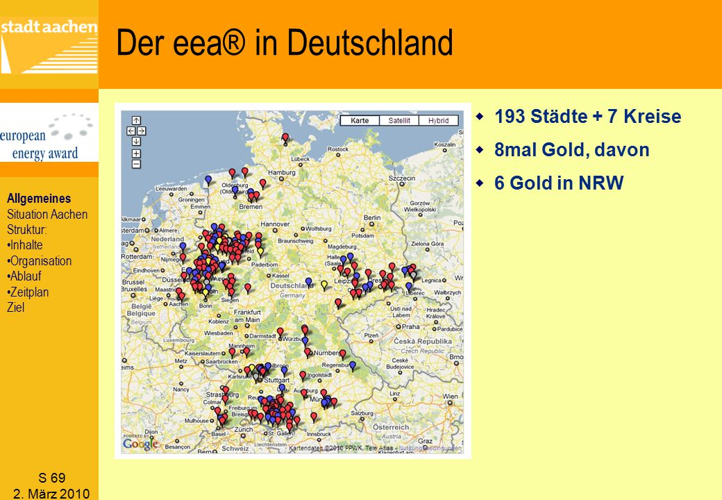 Der eea® in Deutschland