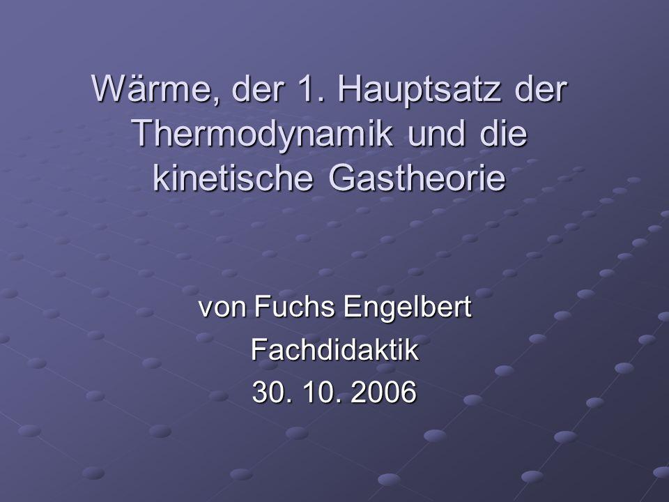 von Fuchs Engelbert Fachdidaktik 30. 10. 2006