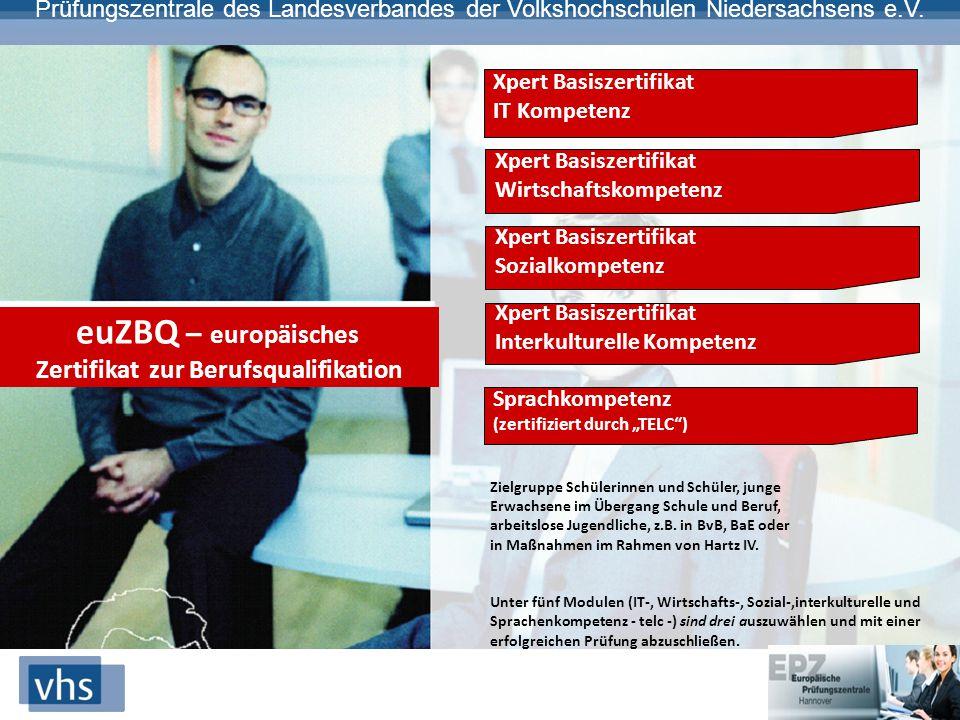 Zertifikat zur Berufsqualifikation