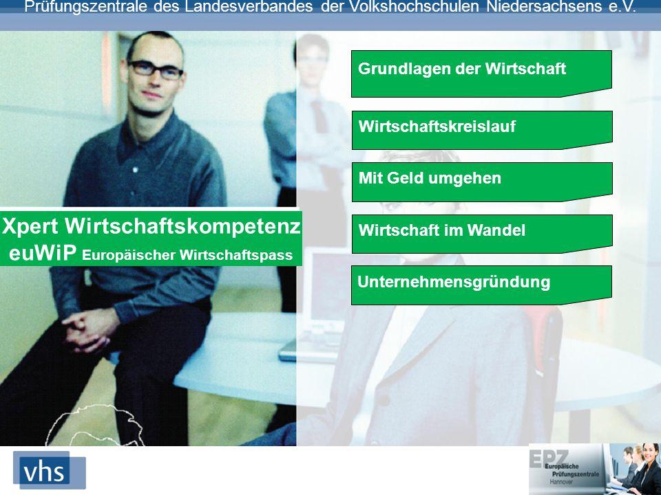 Xpert Wirtschaftskompetenz euWiP Europäischer Wirtschaftspass