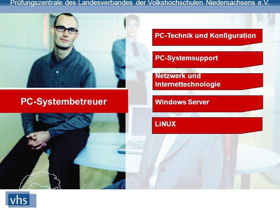 PC-Systembetreuer PC-Technik und Konfiguration PC-Systemsupport
