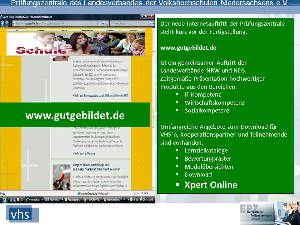 www.gutgebildet.de Xpert Online
