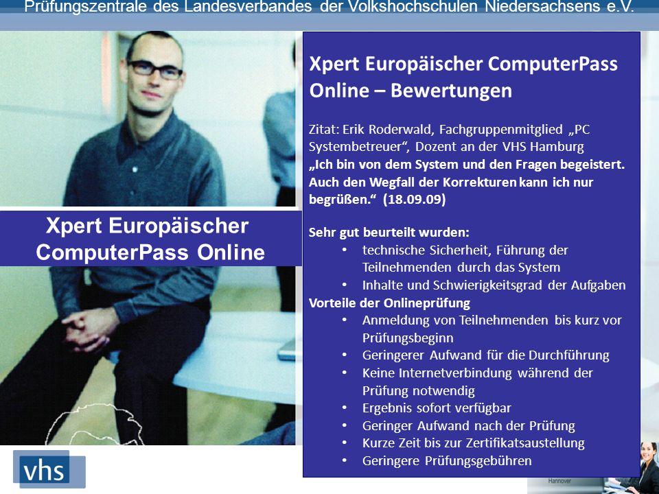 Xpert Europäischer ComputerPass Online