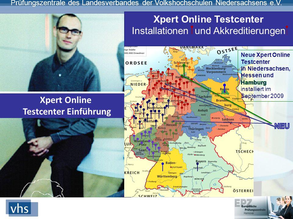 Xpert Online Testcenter Testcenter Einführung