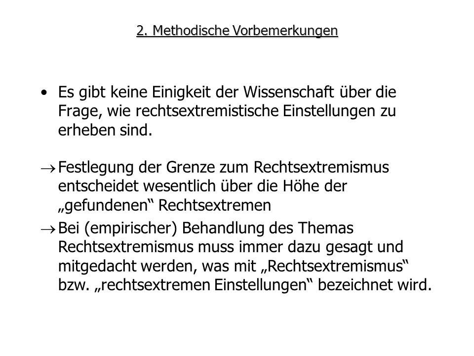 2. Methodische Vorbemerkungen