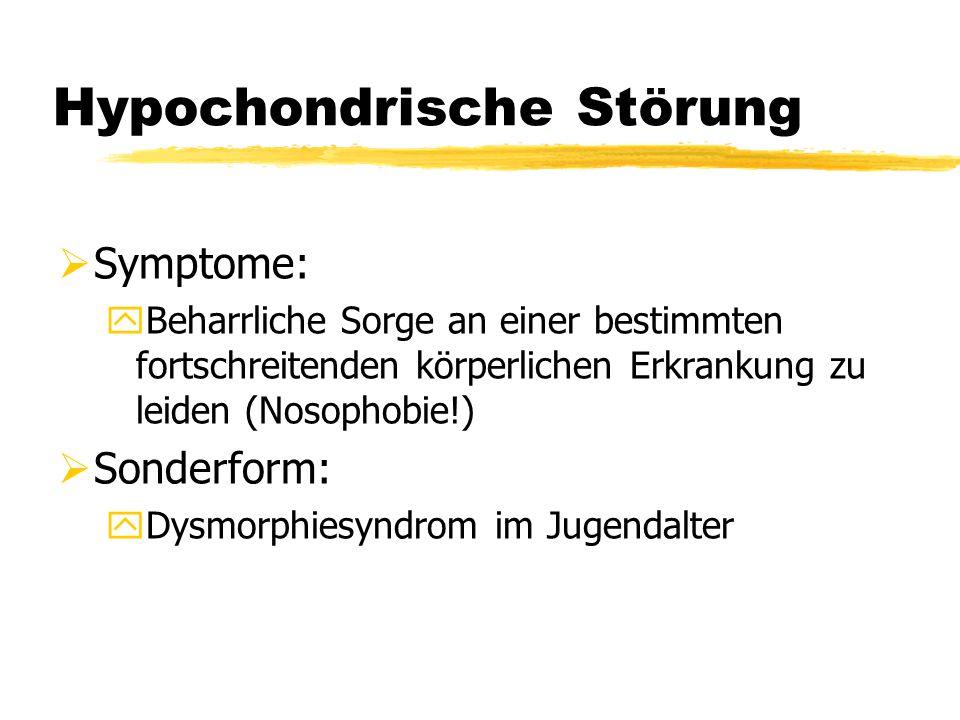 Hypochondrische Störung