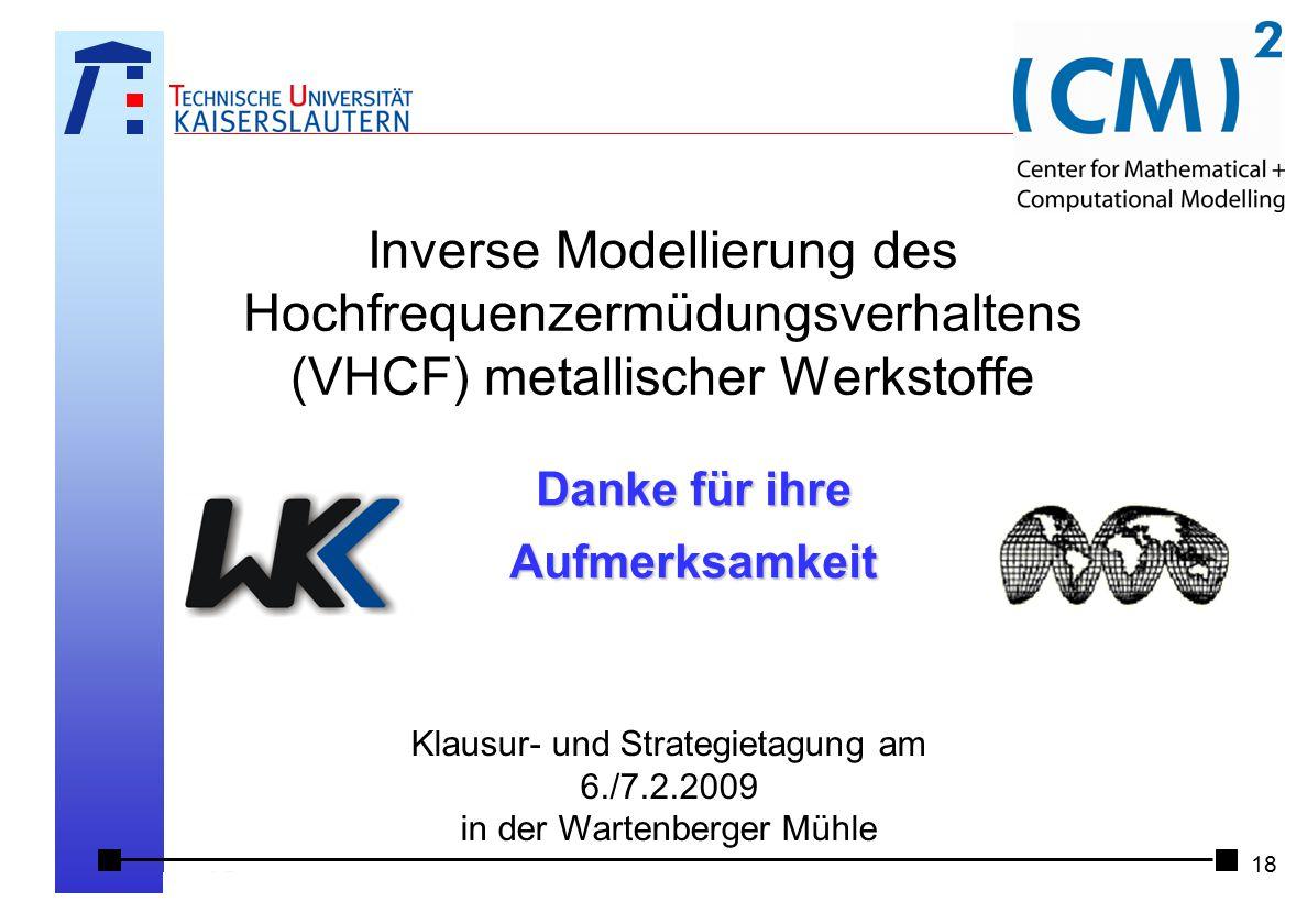 Klausur- und Strategietagung am 6./7.2.2009 in der Wartenberger Mühle