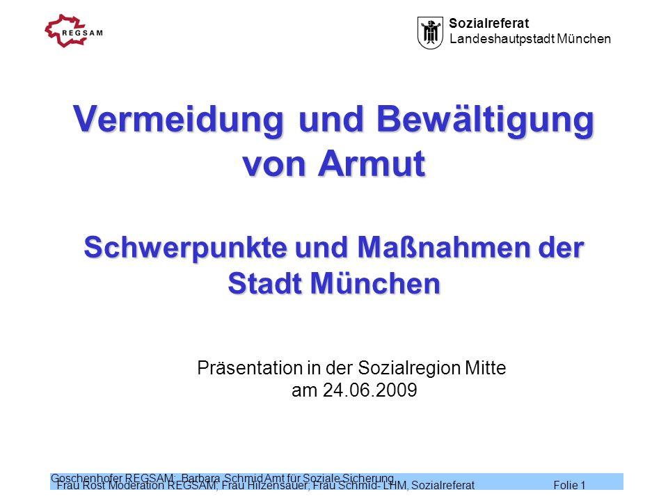 Präsentation in der Sozialregion Mitte am 24.06.2009