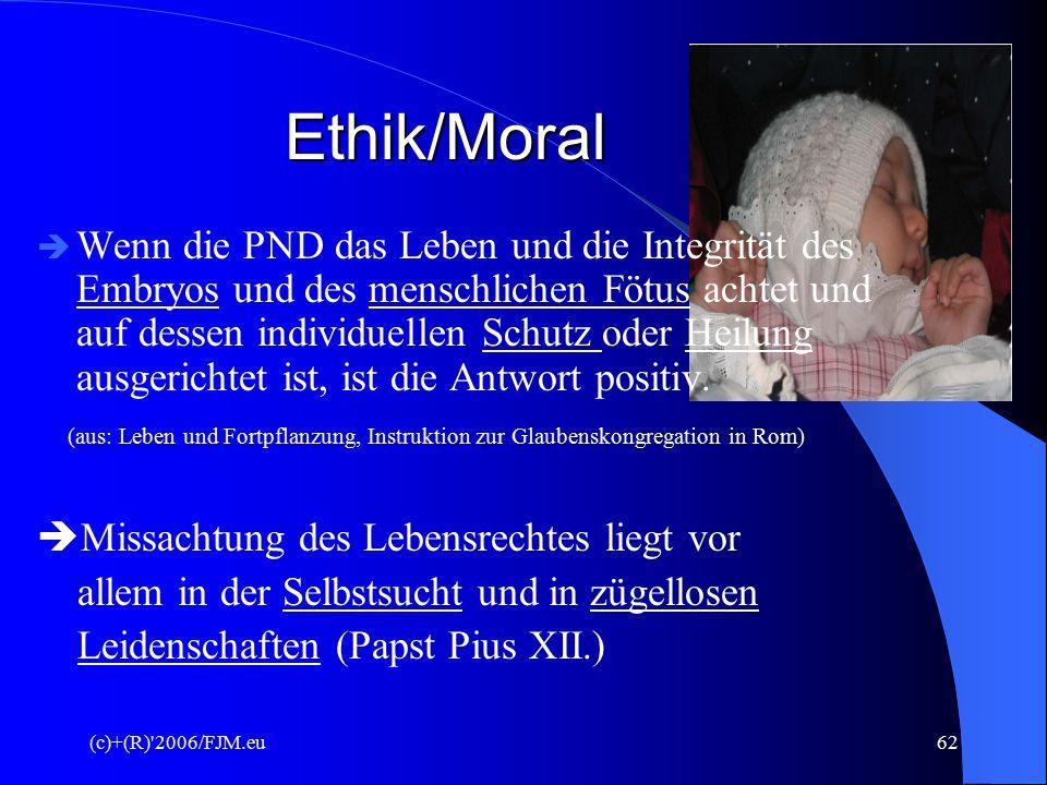 Ethik/Moral