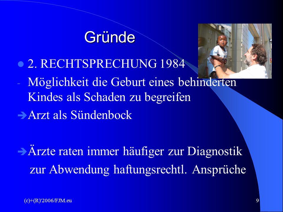 Gründe 2. RECHTSPRECHUNG 1984