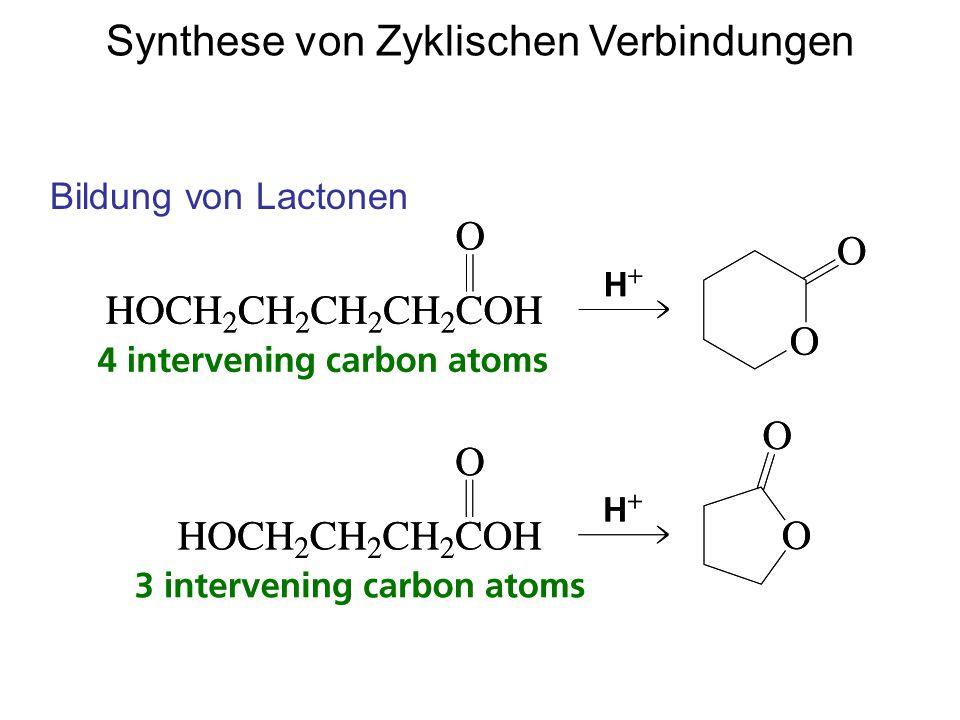 Synthese von Zyklischen Verbindungen