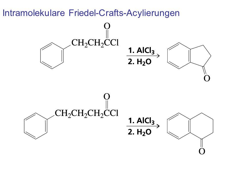 Intramolekulare Friedel-Crafts-Acylierungen
