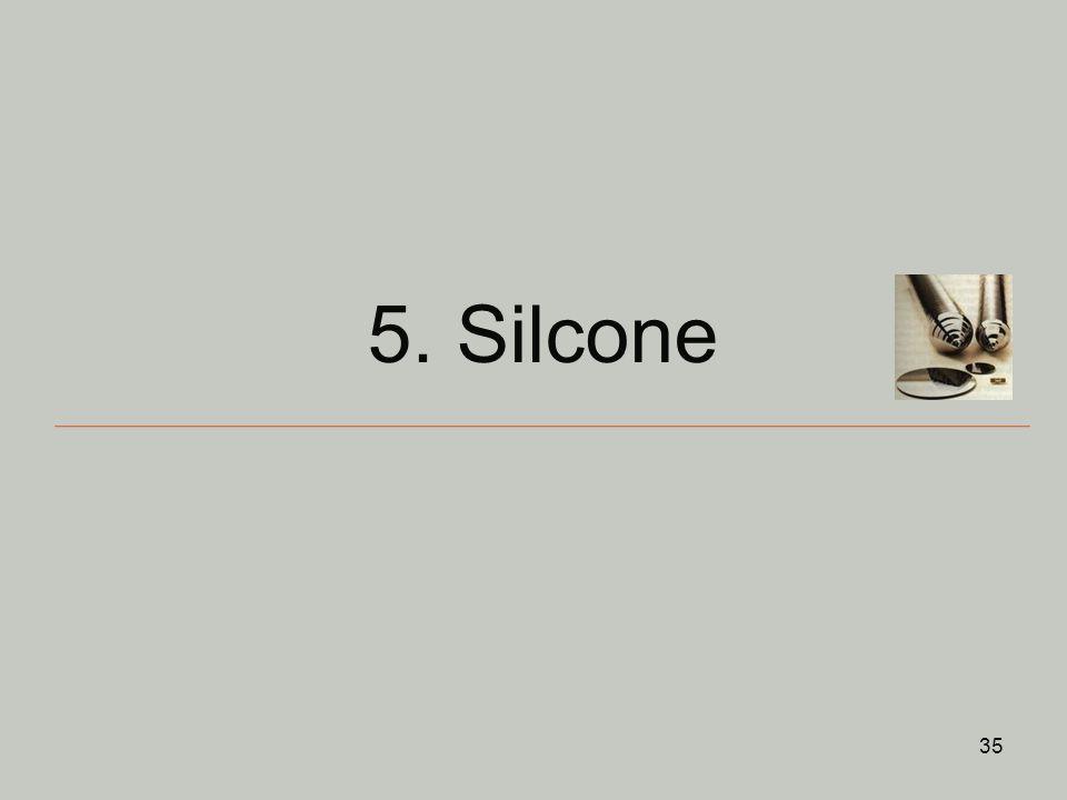 5. Silcone