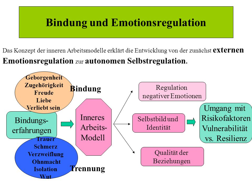 Bindung und Emotionsregulation