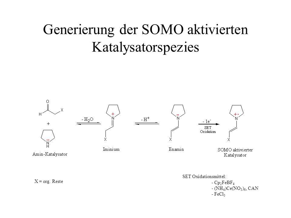Generierung der SOMO aktivierten Katalysatorspezies