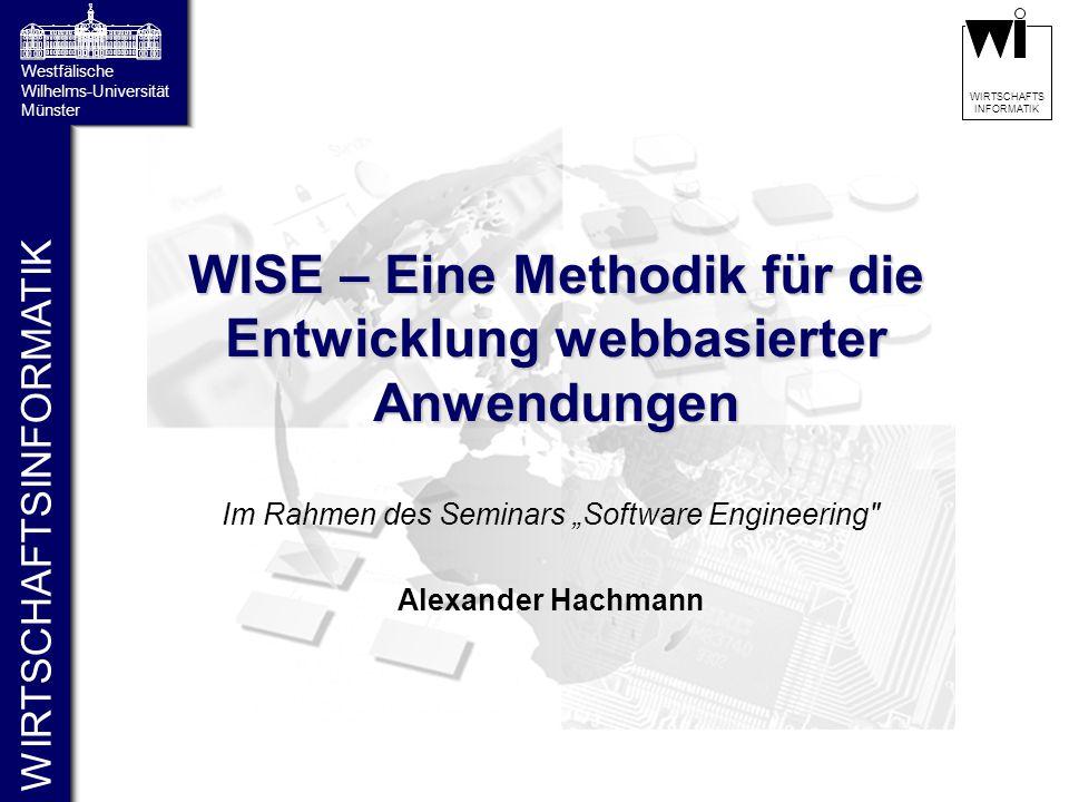 WISE – Eine Methodik für die Entwicklung webbasierter Anwendungen