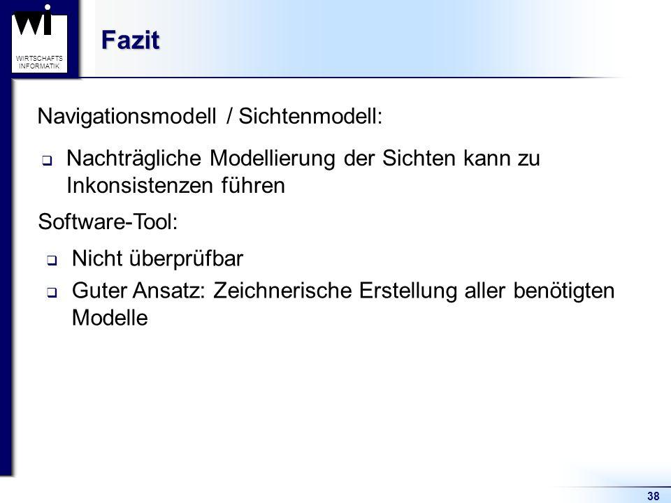 Navigationsmodell / Sichtenmodell: