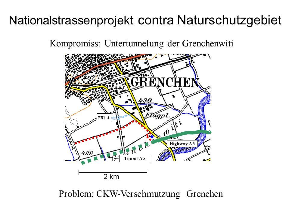 Nationalstrassenprojekt contra Naturschutzgebiet