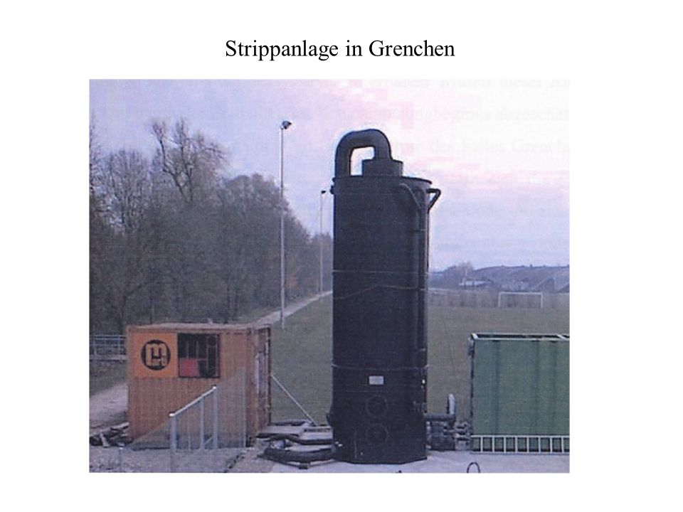 Strippanlage in Grenchen