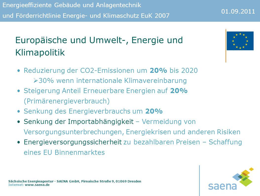 Europäische und Umwelt-, Energie und Klimapolitik