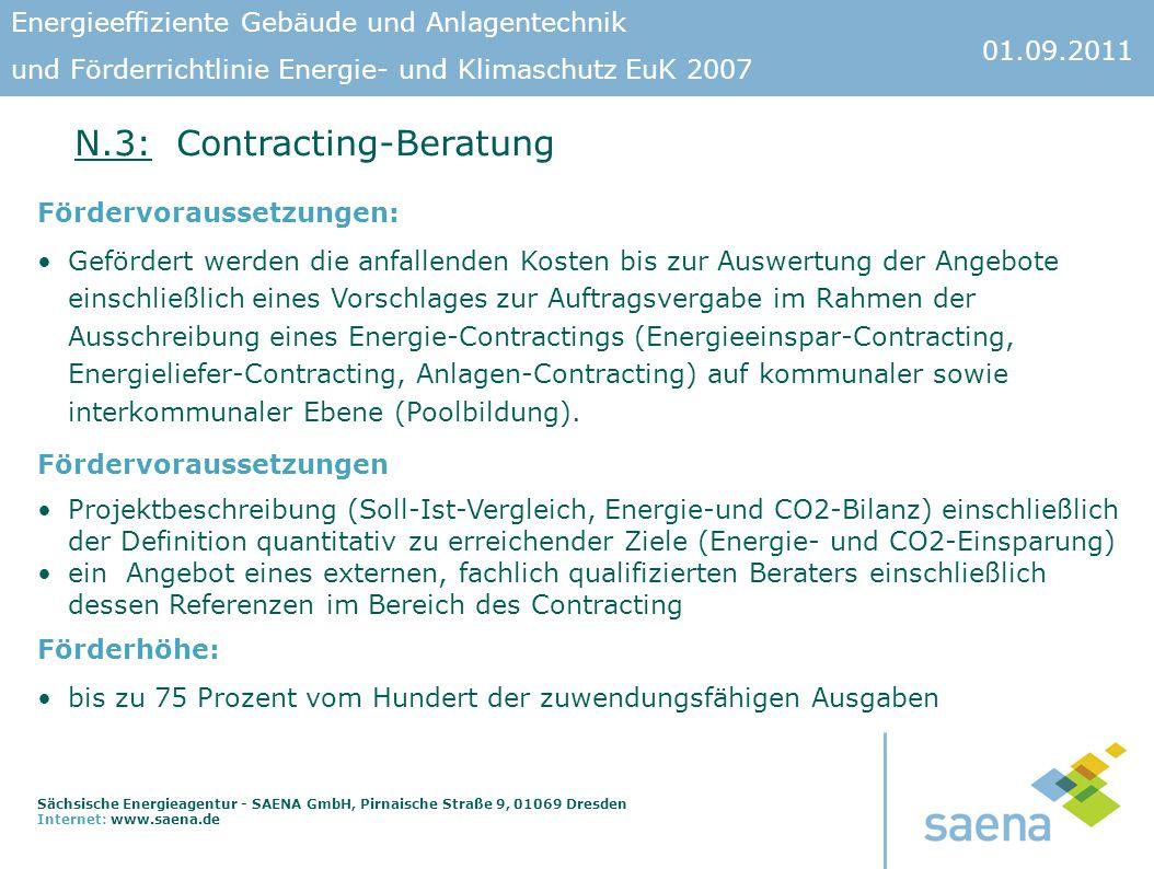 N.3: Contracting-Beratung