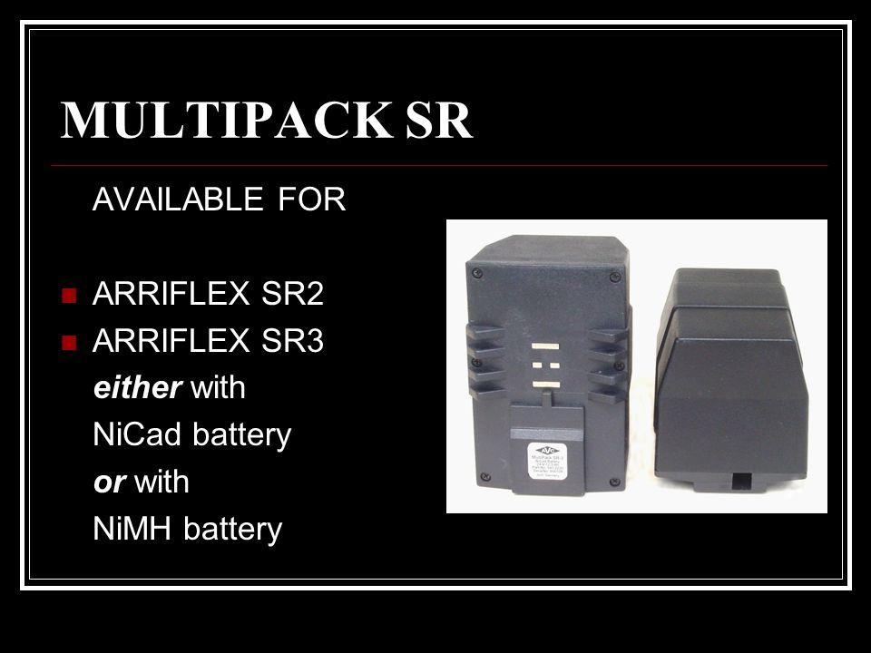MULTIPACK SR AVAILABLE FOR ARRIFLEX SR2 ARRIFLEX SR3 either with