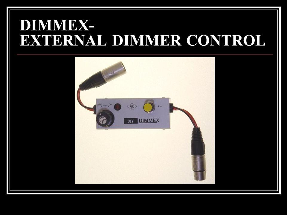DIMMEX- EXTERNAL DIMMER CONTROL