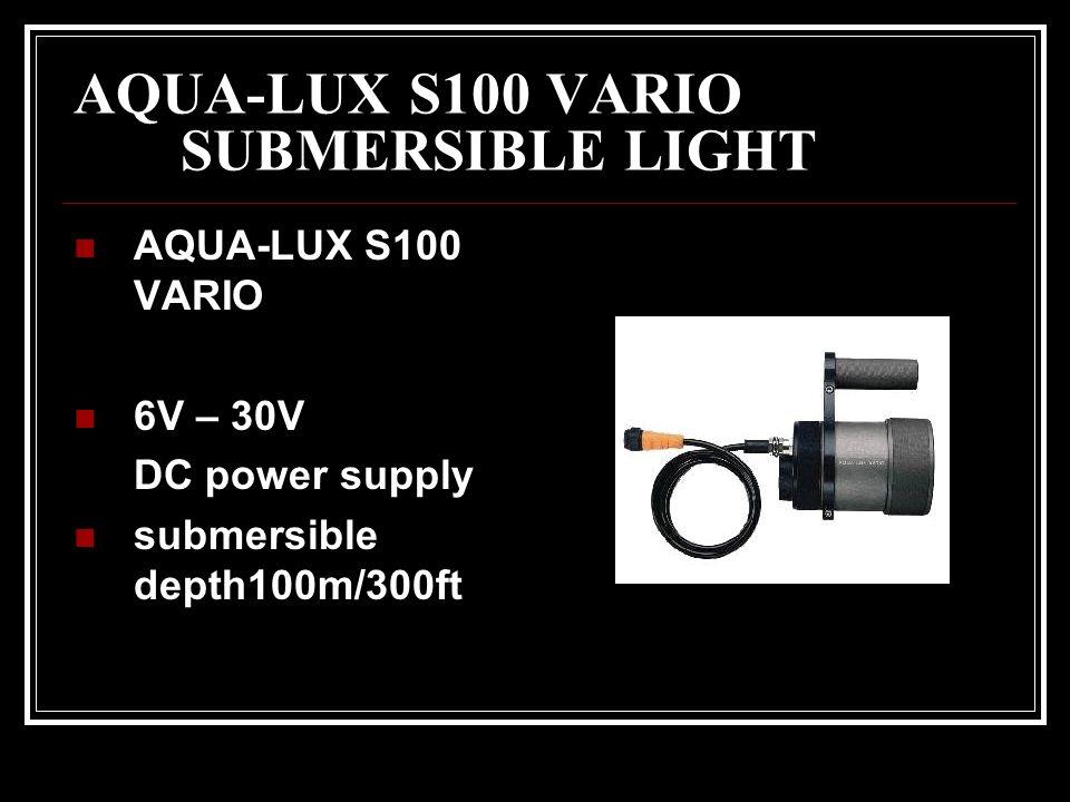 AQUA-LUX S100 VARIO SUBMERSIBLE LIGHT