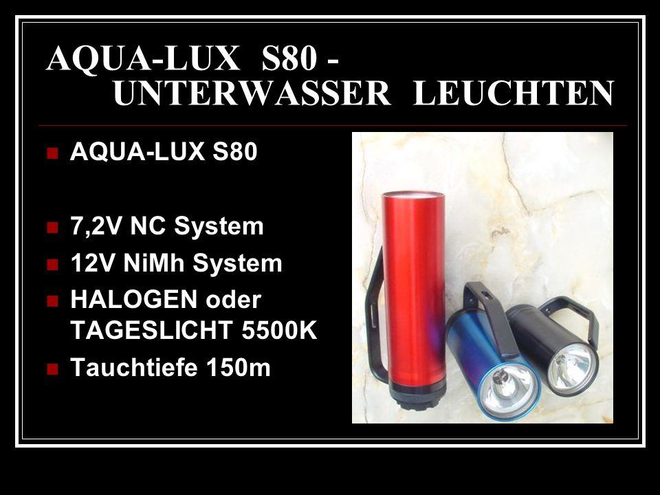 AQUA-LUX S80 - UNTERWASSER LEUCHTEN