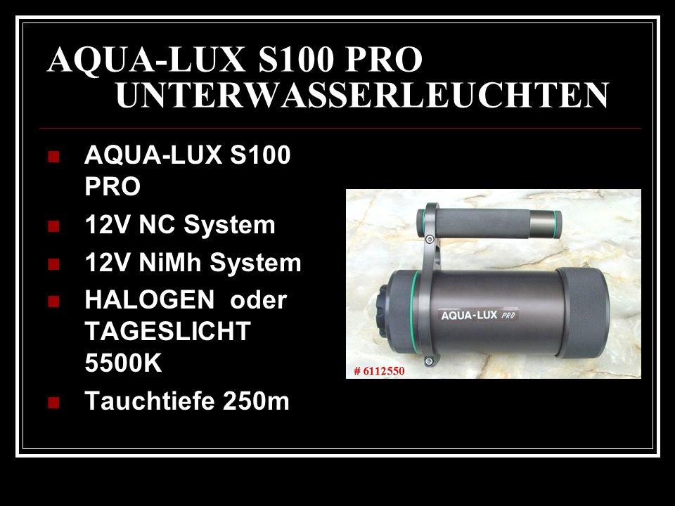AQUA-LUX S100 PRO UNTERWASSERLEUCHTEN