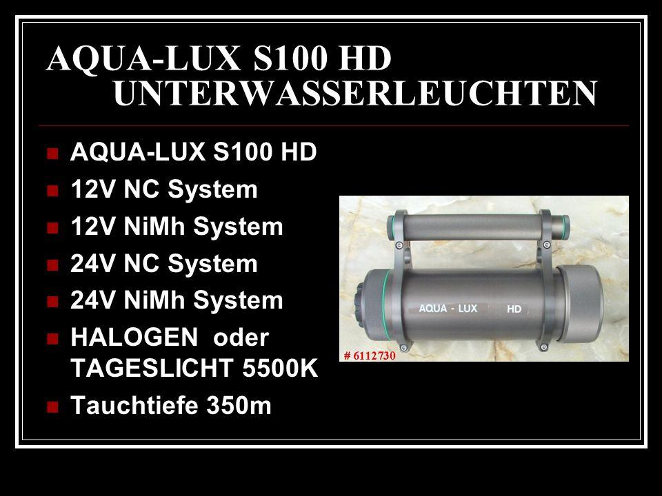 AQUA-LUX S100 HD UNTERWASSERLEUCHTEN