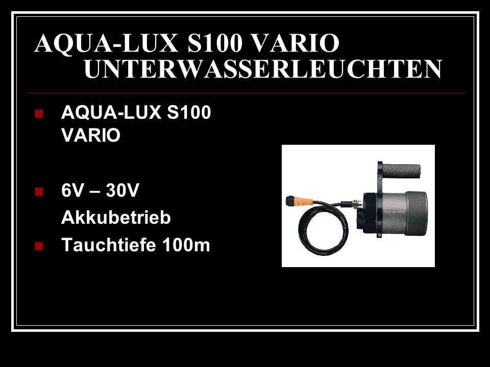 AQUA-LUX S100 VARIO UNTERWASSERLEUCHTEN