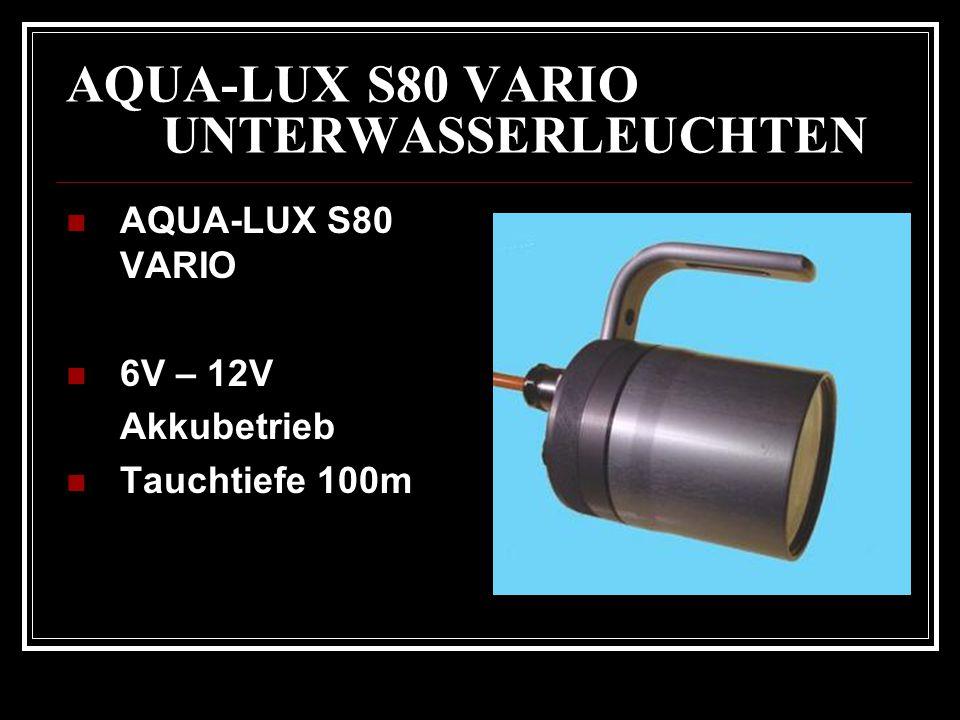 AQUA-LUX S80 VARIO UNTERWASSERLEUCHTEN