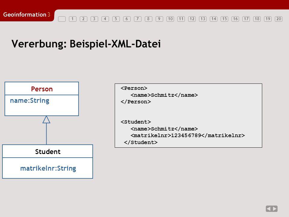 Vererbung: Beispiel-XML-Datei