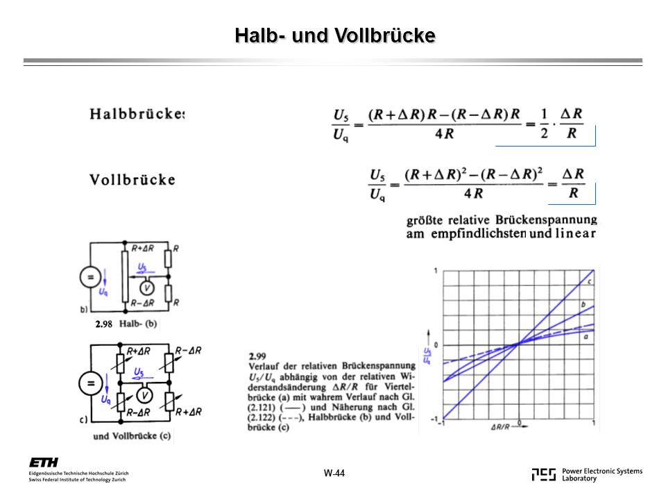 Halb- und Vollbrücke W-44