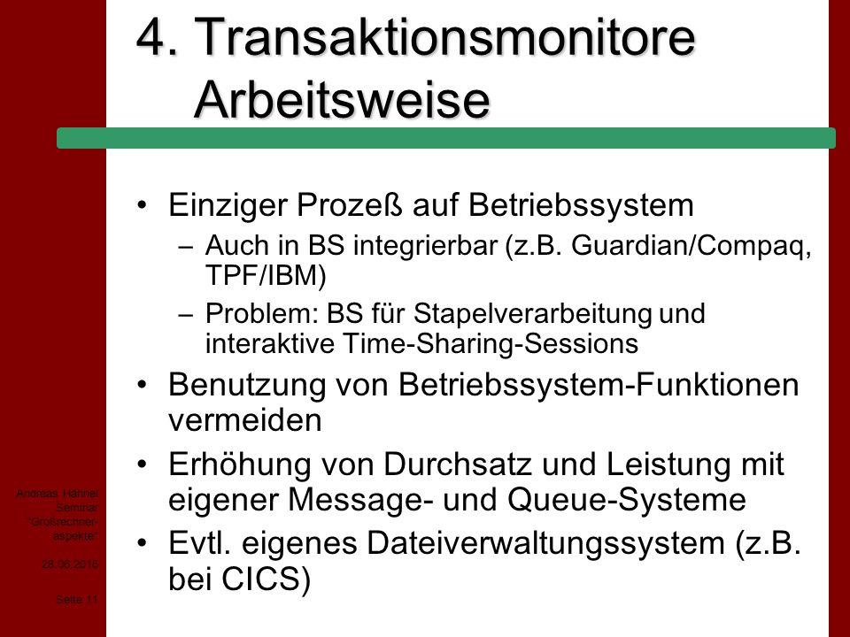 4. Transaktionsmonitore Arbeitsweise