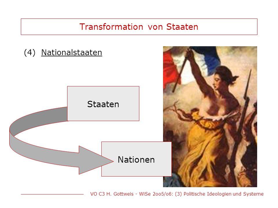 Transformation von Staaten