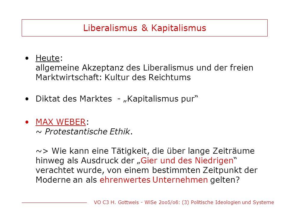 Liberalismus & Kapitalismus