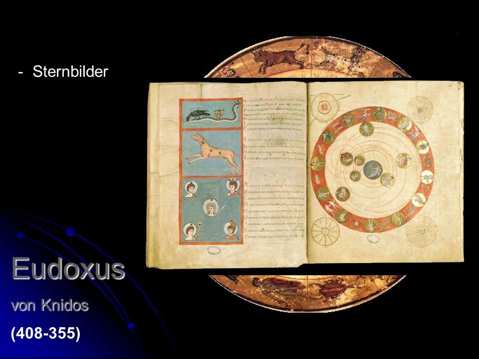 Eudoxus Sternbilder von Knidos (408-355)
